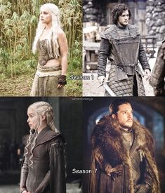 They started as pawns, and ened up King & Queen in their own right. It made perfect sense for Daenerys to come to Westeros around the same time, Jon Snow became King in the North. She had to meet him as her equal. Their parallel stories fascinate me so much. GRRM, you're a freaking genius. Thank you for your brilliance for creating this lovely relationship 20+ years in the making. {Y}