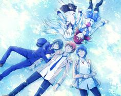 angel beats!!!! this is such a cute pic