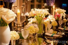 Tip: Mix your florals! Like seen here on @WedLuxe