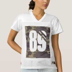 89 Camoflage Football Jersey