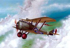 1917 11 Airco DH5 A9449 Captain G.C. Wilson, 2 Sqn AFC, 1917 - Seweryn Fleischer - BFD