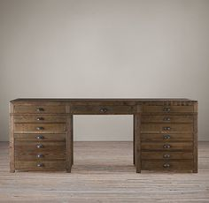 Printmaker's Desk $1595 Restoration Hardware