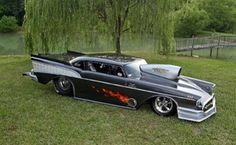 Custom '57 Hot Rod dragster  Now that's just cool!  I would drive the shit out of this. lol
