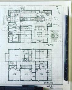 いいね!82件、コメント3件 ― 石川 元洋/一級建築士さん(@motohiro_ishikawa)のInstagramアカウント: 「42坪の6人家族の住まい。…」