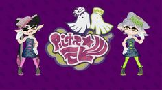 Squid Sisters Wallpaper by Doctor-G on DeviantArt