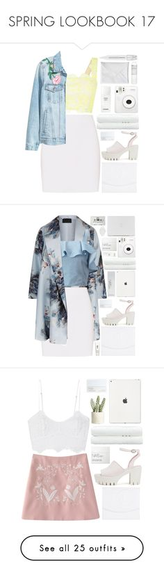 """""""SPRING LOOKBOOK 17"""" by charli-oakeby ❤ liked on Polyvore featuring Monique Lhuillier, Helmut Lang, Chanel, Nly Shoes, NARS Cosmetics, Linum Home Textiles, Fuji, Korres, Sephora Collection and Marina Rinaldi"""