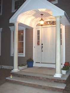 Front stoop on pinterest front stoop front porch addition and door
