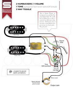 The world's largest selection of free guitar wiring diagrams. Guitar Kits, Guitar Amp, Guitar Classes, Telecaster Guitar, Music Writing, Guitar Pickups, Seymour Duncan, Cigar Box Guitar, Guitar Building