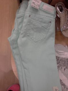 Mint colored pants from the Buckle 1a835b68ec