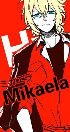 Mikaela Hyakuya - Owari no Seraph - Seraph of the End