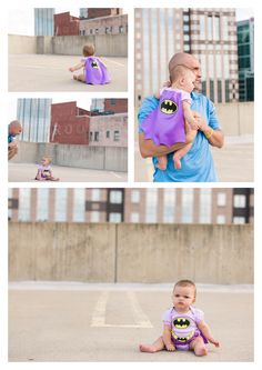 Batgirl - 6 Months | Pittsburgh Lifestyle Photographer | Melissa Lucci Photography