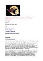 Tintin sur le divan & psychanalyse de Hergé / Trois figures antimusicales de la BD franco-belge : la Castafiore, Gaston Lagaffe et Assurancetourix