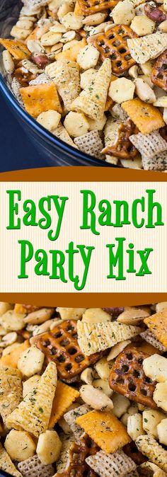 Trail Mix Recipes, Snack Mix Recipes, Appetizer Recipes, Cooking Recipes, Appetizer Ideas, Party Recipes, Yummy Recipes, Fall Snacks, Snacks Für Party