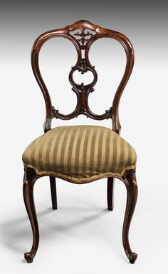 Set Of Six Mid Victorian Rosewood Balloon Back Chairs (Ref No. 7348)