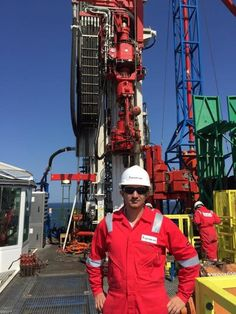 "Etibar Abidov: ""It was my first visit to an offshore platform as a trainee Wellsite Geologist. I was incredibly impressed with the atmosphere which was there.... #HUMANSofOG - Oilpro.com"