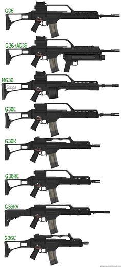 HK G36 family