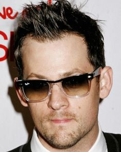 Joel Madden and Ray-Ban RB2143 Wayfarer II Sunglasses Photograph