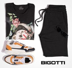 Ensured by the qualities of the natural, lightweight fabrics, black can be a cool choice for the summer.  www.bigotti.eu #mensfashion #menswear #black #mensclothing #mensstyle #summerstyle #summerclothing #summeroutfits #styleinspo #negru #stilmasculin #mensfashiontrends #summervibes #cotton #sneakers Summer Vibes, Summer Outfits, Fabrics, Menswear, Spring Summer, Mens Fashion, Cool Stuff, Natural, Sneakers