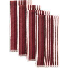 Canopy 4-Piece 18  x 28  Oversized Striped Kitchen Towel Set - Walmart.com  sc 1 st  Pinterest & 111 Best towels images | Towels Art centers Art tiles