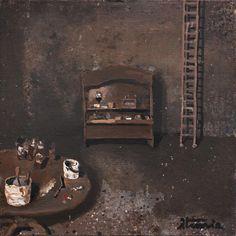 Ignacio Iturria - ESTUDIO DE CADAQUEZ, Oil on canvas