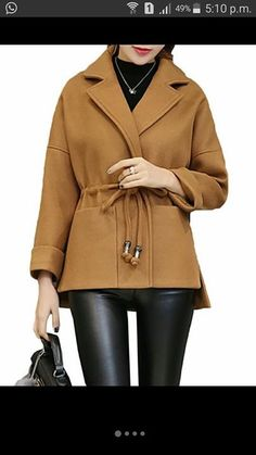 Winter Outfits, Cool Outfits, Coats For Women, Clothes For Women, Cotton Vest, Plus Size Coats, Oversized Coat, Moda Emo, Mode Hijab