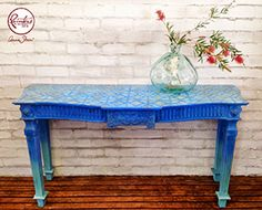 Beau Ford Ombre Console Table