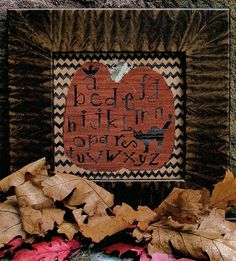 Ravens & Pumpkins & Cats, Oh My! - a Carriage House Samplings Design (stitched 2013)