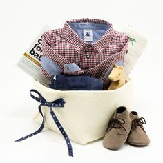 67319bbbc766 Treasure Map Baby Boy Gift Basket featuring Petit Bateau – Bonjour Baby  Baskets - Luxury Baby