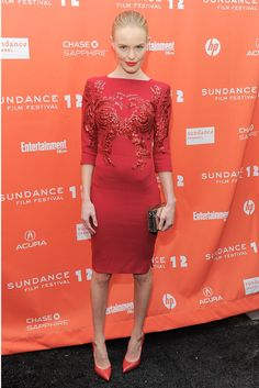 Do & Don´t: Vestidas de rojo -  Kate Bosworth