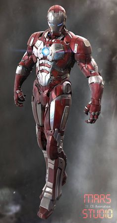 ArtStation - Iron Man : Mark 102, mars ...