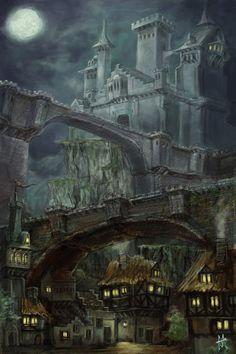 Mordrisvale Castle by j0sh-3000 on DeviantArt