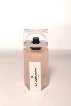 B Balenciaga fragrance packaging, photo by Steve Eichner
