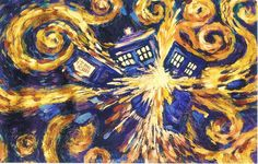 Vincent Van Gogh Last Painting | Doctor Who Postcards From Time and Space - 100 Doctor Who Postcards in ...