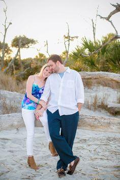 Folly Beach Charleston Engagement Session // Dana Cubbage Weddings // Charleston SC + Destination Wedding Photographer