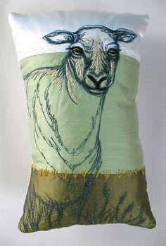 Tara Badcock - Sentinel Sheep pincushion