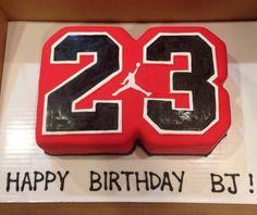 23 Michael Jordan cake