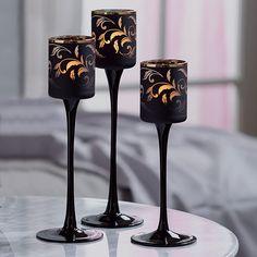klassisch elegant - Forbidden Fruits Teelichthalter Sinnliche Romantik, Trio