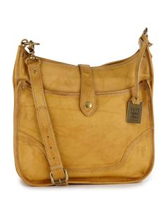 Frye Campus Crossbody - Banana  I love the yellow