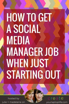 How to Get a Social Media Manager Job When Just Starting Out // Create Your Laptop Life