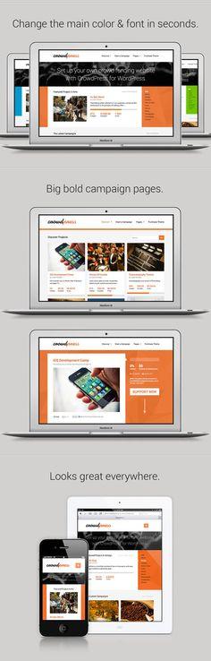 WordPress - CrowdPress - A Crowdfunding WordPress Theme | ThemeForest
