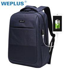 c5c304bed2a1 Multifunction computer USB charging 15.6 inch Laptop Backpack men School Bag  Price  40.00  amp