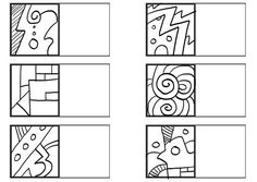 drawing practice grid prep