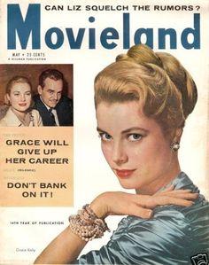 Grace Kelly - Movieland - 1956