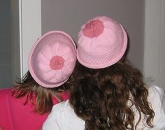 Must knit for next 'Race for the Cure' | if we ever run a breast cancer 5k together, you must make us these!
