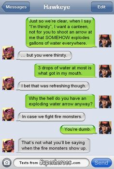 These Texts From Superheroes Are Even Funnier After AVENGERS: AGE OF ULTRON —…