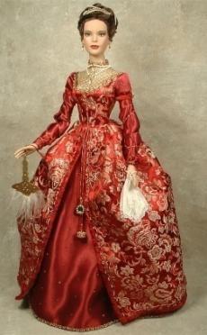 Enchanted Serenity of Period Films: Crawford Manor - Custom made Dolls ~ Anne Boleyn