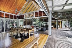 What I like best is the functionality and adaptability of the layout (and the breezeway)