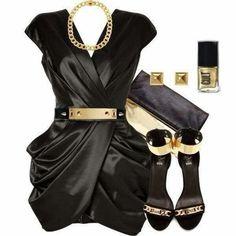 classic black dress sexy love it