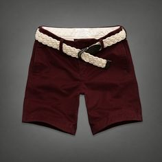 I think I'll wear it with the belt. Spring/Summer shopping has begun! All American Clothing, Abercrombie And Fitch Shorts, What To Wear, Bermuda Shorts, Classy, My Style, Tees, Casual, T Shirts