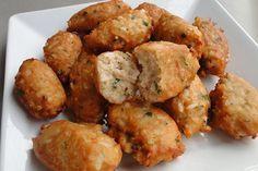 Receita de Bolinho de Atum , Delicioso e fácil de fazer! Aprenda a Receita!
